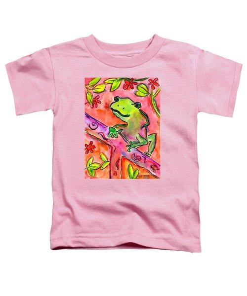 Froggy Toddler T-Shirt