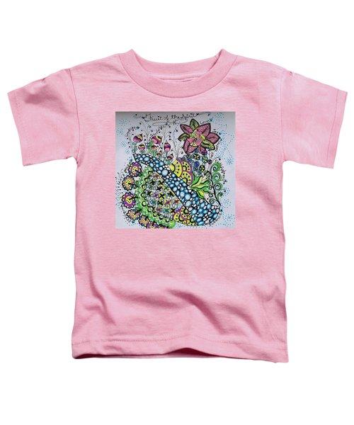 Fruit Of The Spirit Toddler T-Shirt