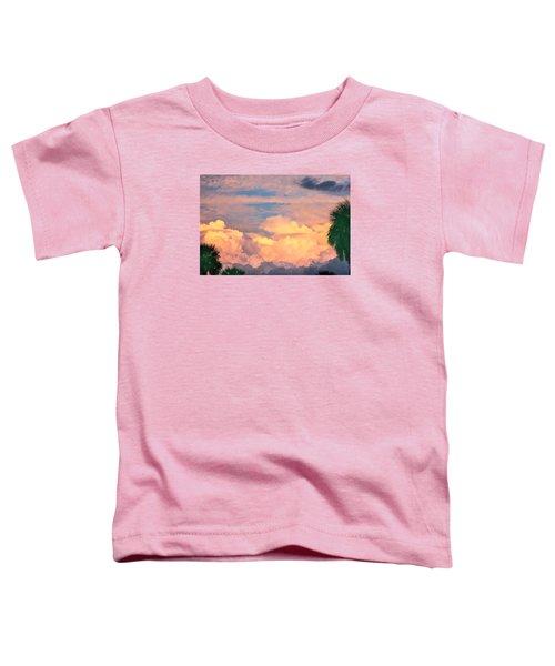 Ft De Soto Sunset Clouds Toddler T-Shirt