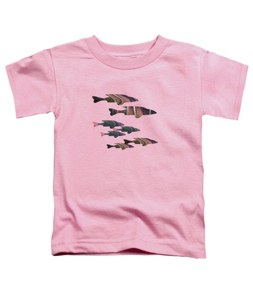 Fuchsia Fish Toddler T-Shirt