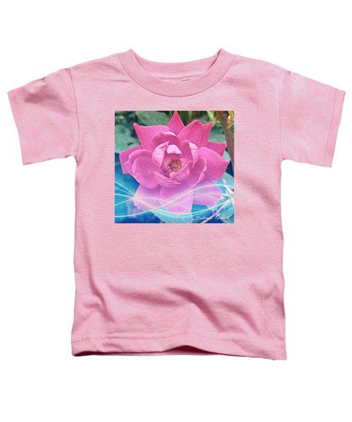 Fuschia Flower Energy Toddler T-Shirt