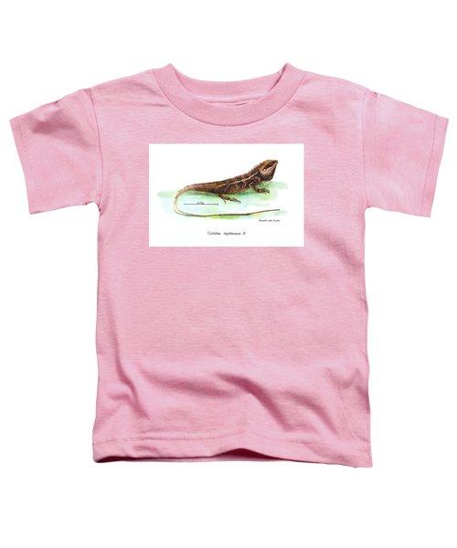 Garden Lizard Toddler T-Shirt
