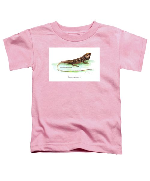 Garden Lizard Toddler T-Shirt