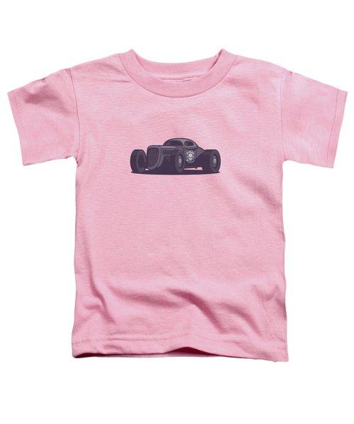 Gaz Gl1 Custom Vintage Hot Rod Classic Street Racer Car - Aqua Toddler T-Shirt