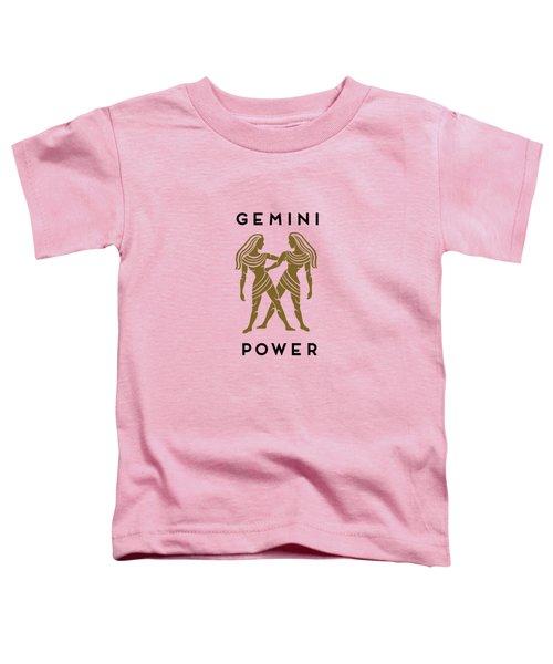 Gemini Power Toddler T-Shirt