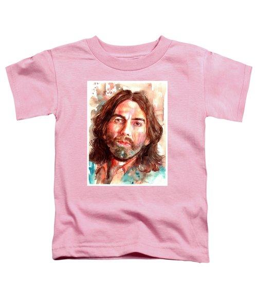 George Harrison Portrait Toddler T-Shirt
