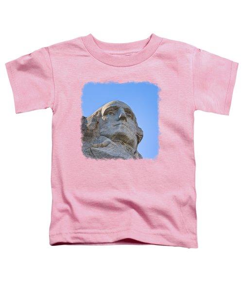 George Washington 3 Toddler T-Shirt by John M Bailey