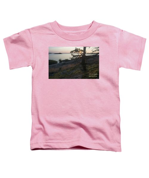 Georgian Bay Sunrise-moss 4253 Toddler T-Shirt