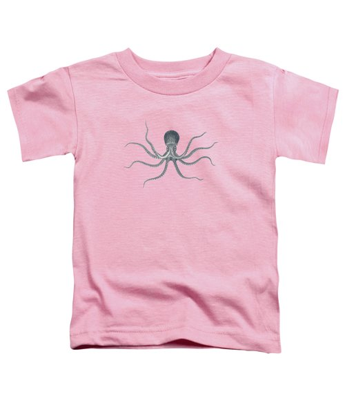 Giant Squid - Nautical Design Toddler T-Shirt