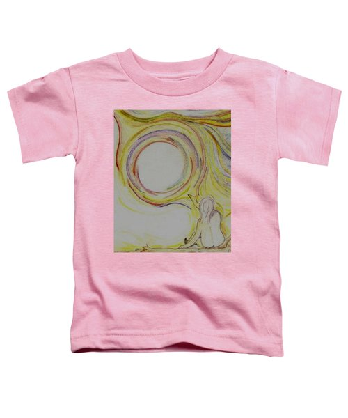 Girl And Universe Creative Connection Toddler T-Shirt