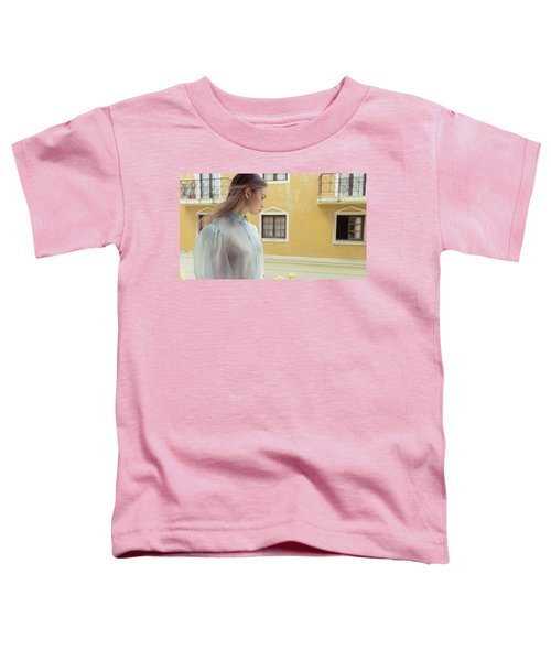 Girl In Profile Toddler T-Shirt