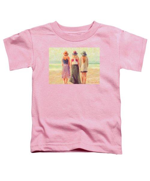 Girlfriends At The Beach Toddler T-Shirt