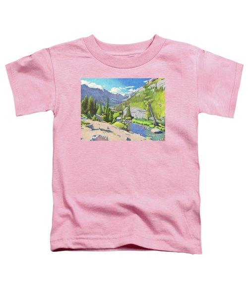 Glacier Gorge Toddler T-Shirt