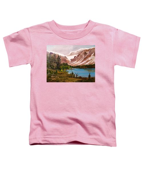 Glacier Lake Toddler T-Shirt