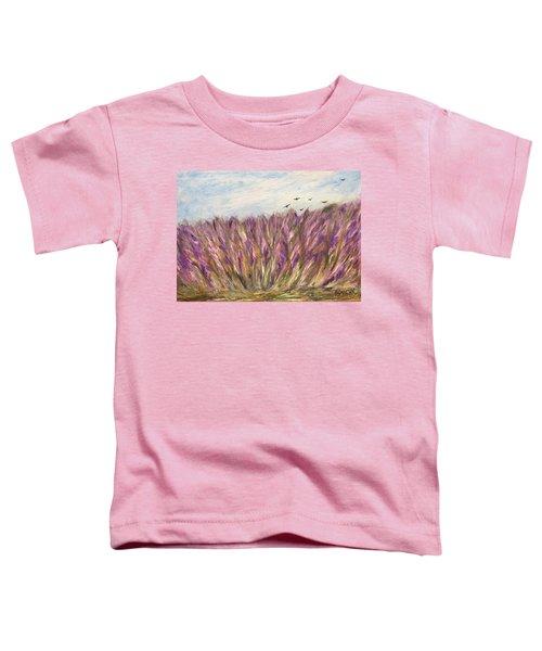 Gladiolus Field Toddler T-Shirt