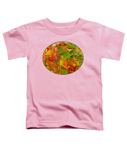 Glorious Autumn Leaves Toddler T-Shirt