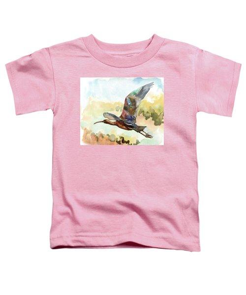 Glossy Ibis Toddler T-Shirt