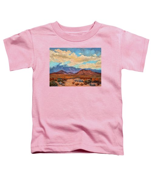 God's Creation Mt. San Gorgonio  Toddler T-Shirt