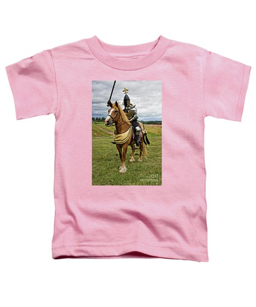 Gold And Silver Knight Toddler T-Shirt