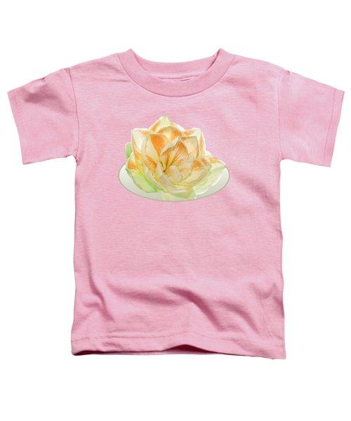 Golden Amaryllis Toddler T-Shirt