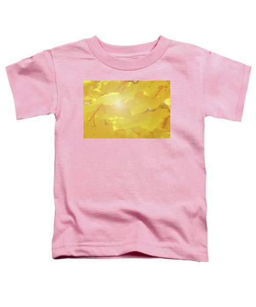 Golden Autumn Leaves Toddler T-Shirt