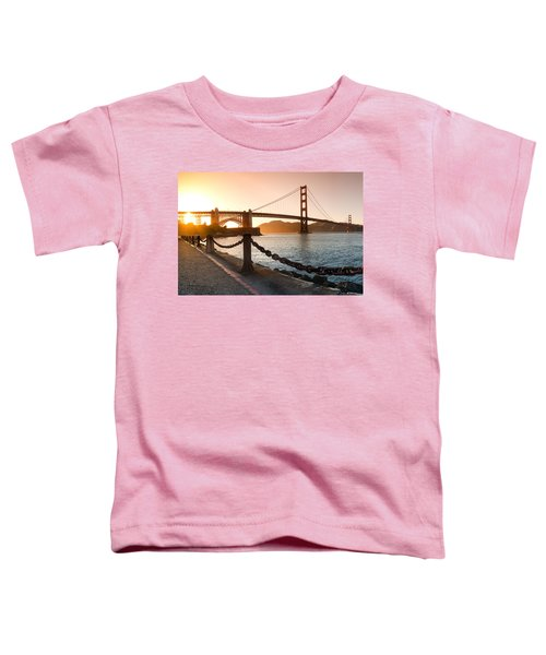 Golden Gate Chain Link Toddler T-Shirt