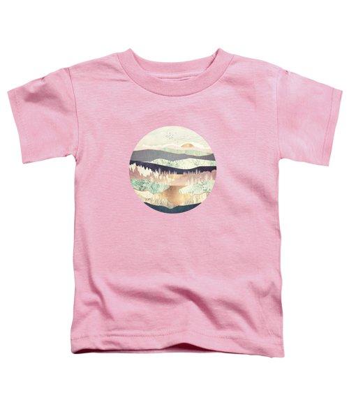 Golden Spring Reflection Toddler T-Shirt