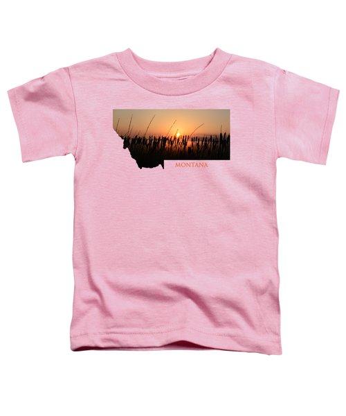 Good Morning Montana Toddler T-Shirt
