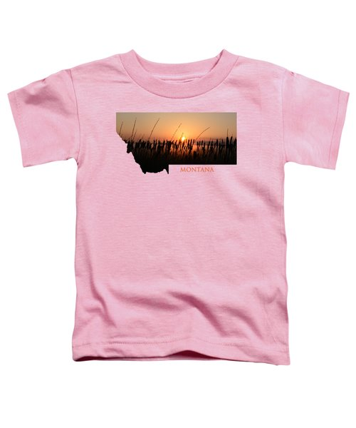 Good Morning Montana Toddler T-Shirt