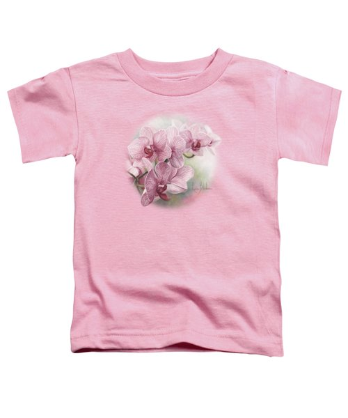 Graceful Orchids Toddler T-Shirt by Lucie Bilodeau