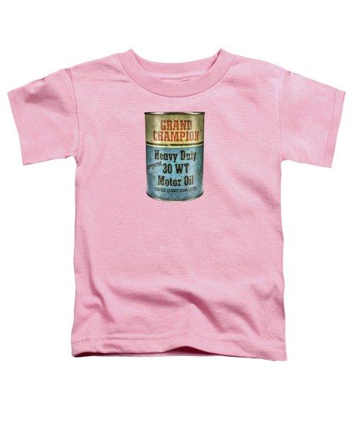 Grand Champion Motor Oil Toddler T-Shirt