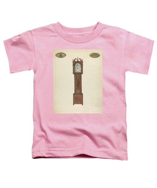 Grandfather Clock Toddler T-Shirt