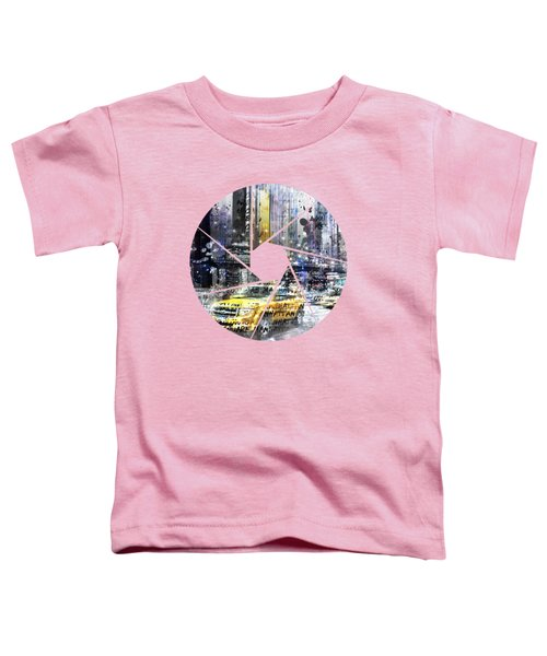 Graphic Art New York City Toddler T-Shirt