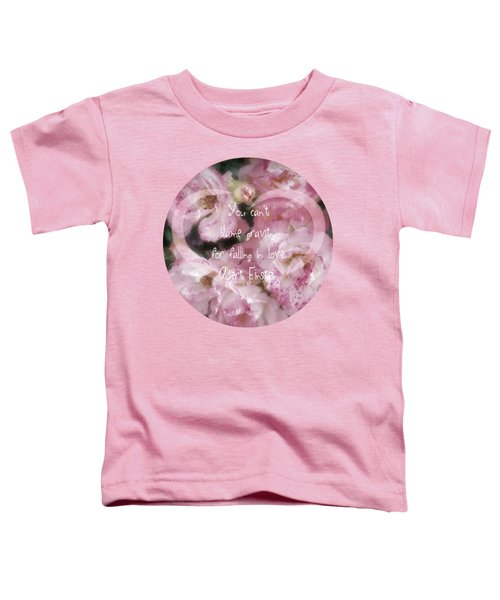 Gravity - Quote Toddler T-Shirt