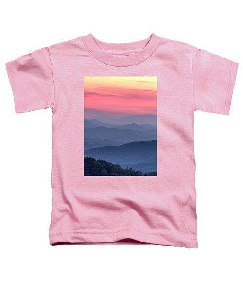 Great Smoky Mountain Sunset Toddler T-Shirt