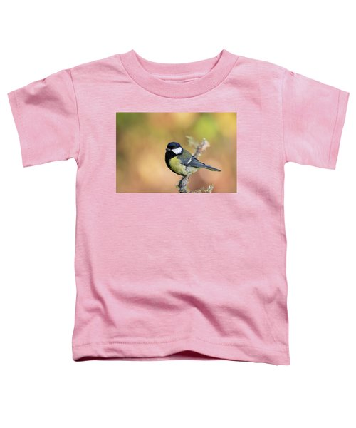 Great Tit - Parus Major Toddler T-Shirt