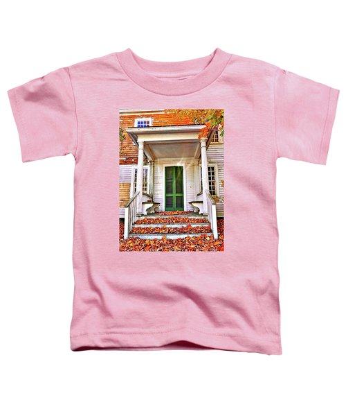 Green Autumn Door Toddler T-Shirt