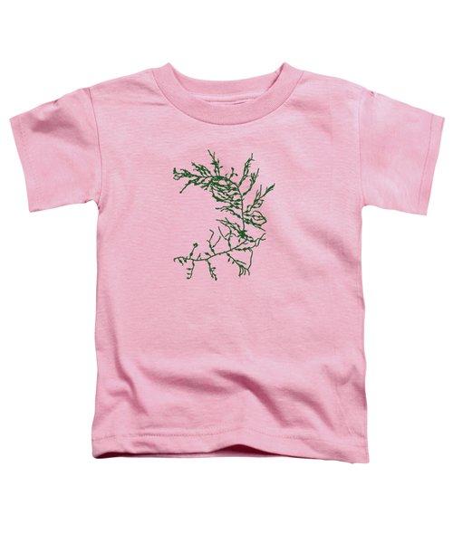 Green Seaweed Art Cystoseira Fibrosa Toddler T-Shirt