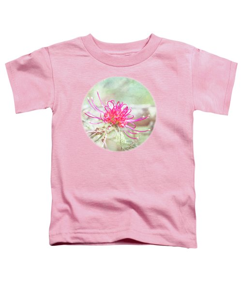 Toddler T-Shirt featuring the photograph Grevillea by Linda Lees