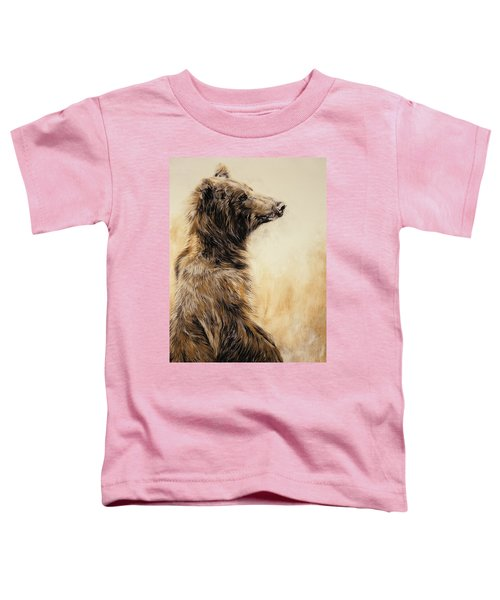 Grizzly Bear 2 Toddler T-Shirt