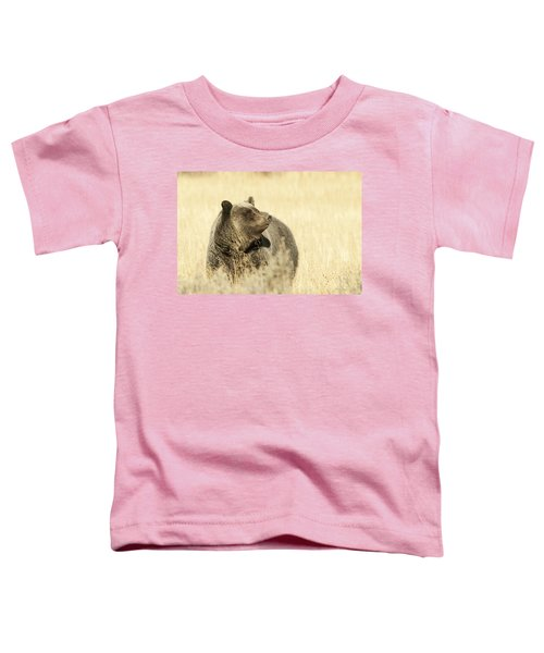 Grizzly Bear Toddler T-Shirt