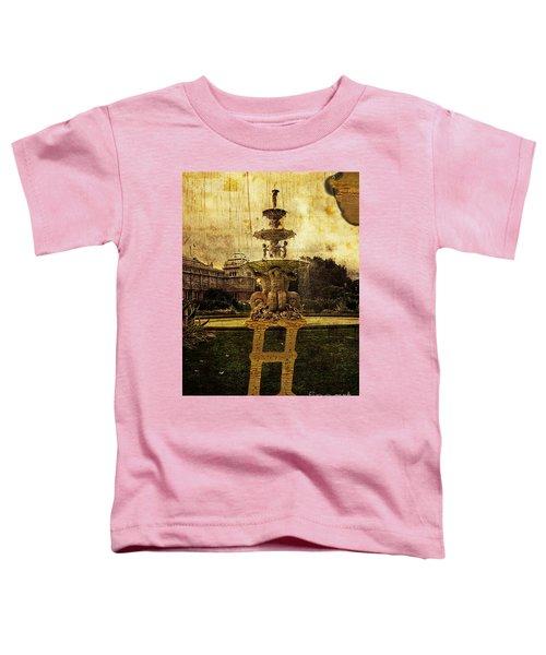 Grungy Melbourne Australia Alphabet Series Letter H Hochgurtel F Toddler T-Shirt