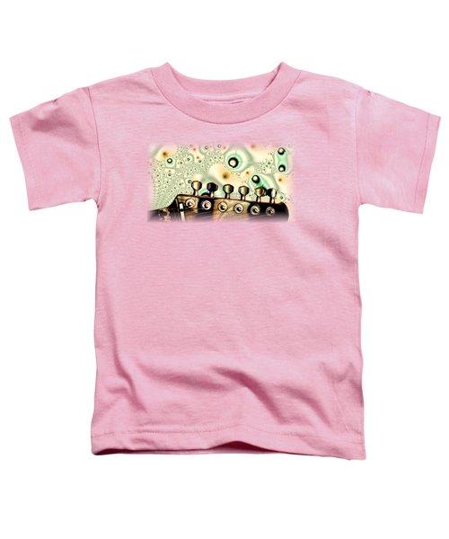 Guitar Head - Fantasy - Musical Instruments Toddler T-Shirt