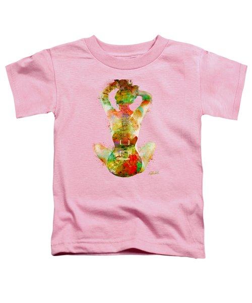 Guitar Siren Toddler T-Shirt