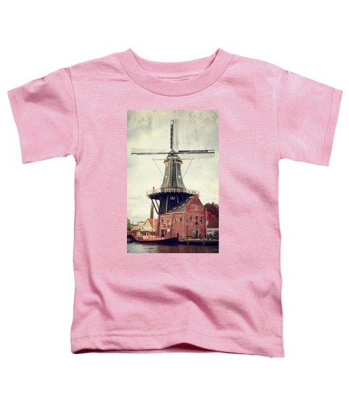 Haarlem Windmill II Toddler T-Shirt