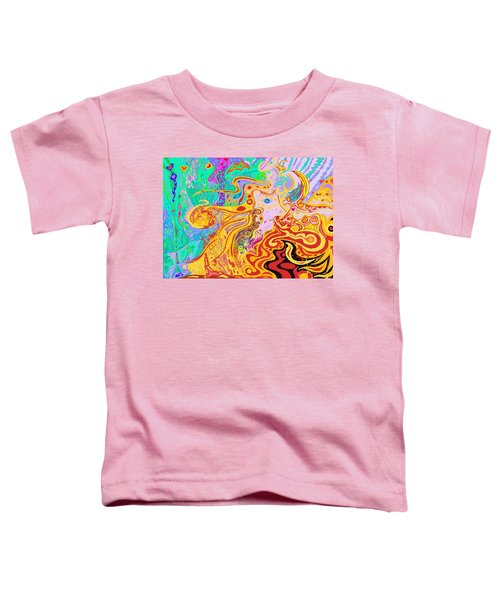 Hair Of The Divine Universe Toddler T-Shirt