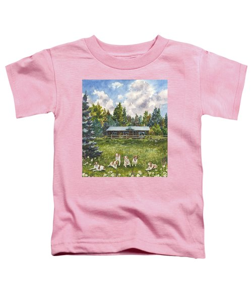Happy Dogs Toddler T-Shirt