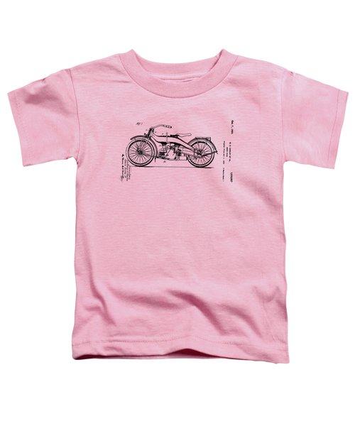 Harley Motorcycle Patent Toddler T-Shirt