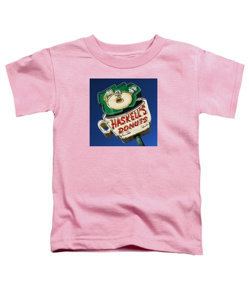 Haskell's Donuts Sign #1 Toddler T-Shirt