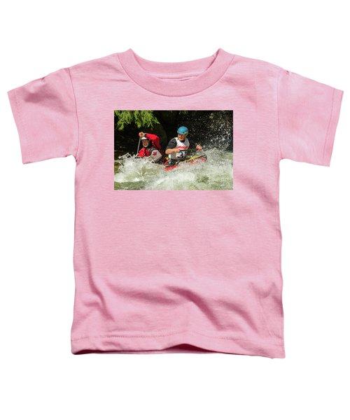 Having Fun In Whitewater Toddler T-Shirt